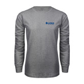 Grey Long Sleeve T Shirt-Airbus Helicopters