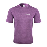 Performance Purple Heather Contender Tee-Airbus Helicopters