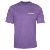 Performance Purple Heather Contender Tee-Airbus