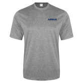 Performance Grey Heather Contender Tee-Airbus