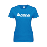Ladies Sapphire T Shirt-Airbus Helicopters