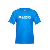 Youth Sapphire T Shirt-Airbus Helicopters