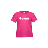 Toddler Fuchsia T Shirt-Airbus Helicopters