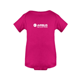 Fuchsia Infant Onesie-Airbus Helicopters