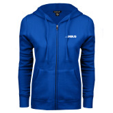 ENZA Ladies Royal Fleece Full Zip Hoodie-Airbus