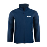 Navy Softshell Jacket-Airbus Helicopters