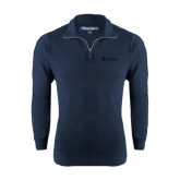 Navy Rib 1/4 Zip Pullover-Airbus Helicopters