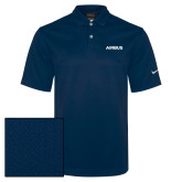 Nike Sphere Dry Navy Diamond Polo-Airbus