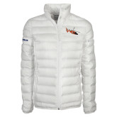 Columbia Mighty LITE Ladies White Jacket-USCG MH65 Craft