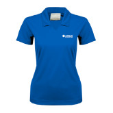 Ladies Nike Golf Dri Fit Royal Micro Pique Polo-Airbus Helicopters