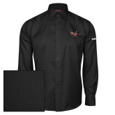 Red House Black Herringbone Non Iron Long Sleeve Shirt-USCG MH65 Craft