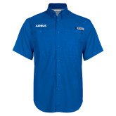 Columbia Bonehead Royal Short Sleeve Shirt-Airbus