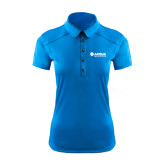 Ladies Ogio Sapphire Blue Pleated Back Polo-Airbus Helicopters