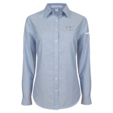 Ladies Light Blue Oxford Shirt-H125 Craft