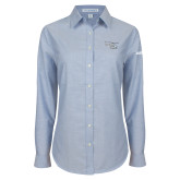 Ladies Light Blue Oxford Shirt-H135 Craft