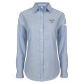 Ladies Light Blue Oxford Shirt-H130 Craft