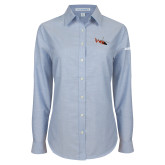 Ladies Light Blue Oxford Shirt-USCG MH65 Craft