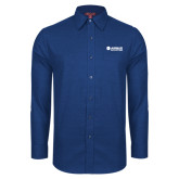 Red House Royal Non Iron Diamond Dobby Long Sleeve Shirt-Airbus Helicopters