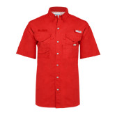 Columbia Bonehead Red Short Sleeve Shirt-Airbus Helicopters