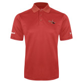 Under Armour Red Performance Polo-USCG MH65 Craft