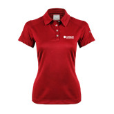 Ladies Nike Dri Fit Red Pebble Texture Sport Shirt-Airbus Helicopters