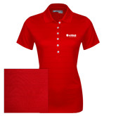 Ladies Callaway Opti Vent Red Polo-Airbus Helicopters