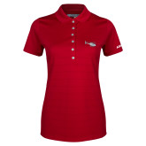 Ladies Callaway Opti Vent Red Polo-H120 Craft