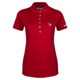 Ladies Callaway Opti Vent Red Polo-H130 Craft