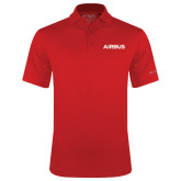 Columbia Red Omni Wick Round One Polo-Airbus