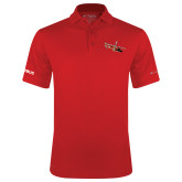 Columbia Red Omni Wick Round One Polo-USCG MH65 Craft