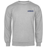 Grey Fleece Crew-Airbus