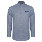 Red House Light Blue Non Iron Diamond Dobby Long Sleeve Shirt-Airbus Helicopters