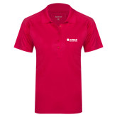 Ladies Pink Raspberry Dry Mesh Pro Polo-Airbus Helicopters