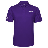 Adidas Climalite Purple Game Time Polo-Airbus