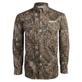 Camo Long Sleeve Performance Fishing Shirt-Airbus