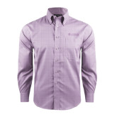 Red House Purple Plaid Non Iron Long Sleeve Shirt-Airbus Helicopters