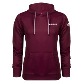 Adidas Climawarm Maroon Team Issue Hoodie-Airbus