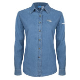 Ladies Denim Long Sleeve Shirt-H125 Craft