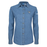 Ladies Denim Long Sleeve Shirt-H130 Craft