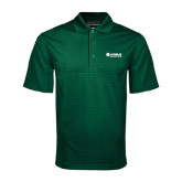 Dark Green Mini Stripe Polo-Airbus Helicopters
