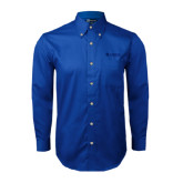Royal Twill Button Down Long Sleeve-Airbus Helicopters