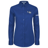 Ladies Royal Twill Button Down Long Sleeve-H135 Craft
