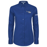 Ladies Royal Twill Button Down Long Sleeve-H120 Craft