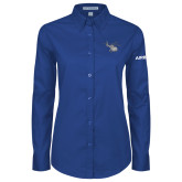 Ladies Royal Twill Button Down Long Sleeve-H130 Craft