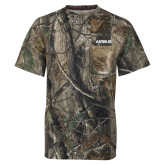Realtree Camo T Shirt w/Pocket-Airbus
