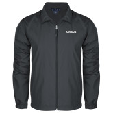 Full Zip Charcoal Wind Jacket-Airbus