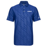 Nike Dri Fit Royal Embossed Polo-Airbus