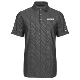 Nike Dri Fit Charcoal Embossed Polo-Airbus