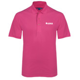 Tropical Pink Easycare Pique Polo-Airbus Helicopters