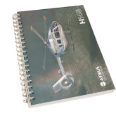 Clear 7 x 10 Spiral Journal Notebook-H145 Over Water